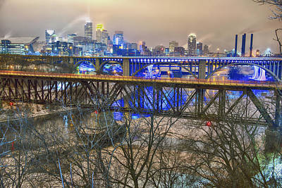 University Of Minnesota Photograph - Minneapolis Bridges by Craig Voth