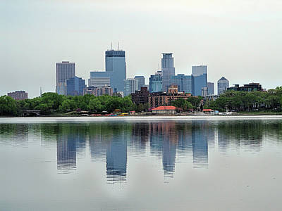Photograph - Minneapolis Morning by C H Apperson