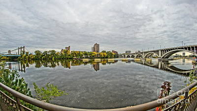 Photograph - Minneapolis Shoreline by Cj Mainor