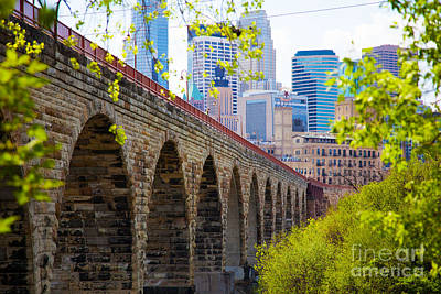 Minneapolis Stone Arch Bridge Photography Seminar Art Print