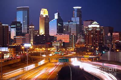 Photograph - Minneapolis by Susan Herber
