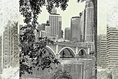 Minneapolis Vision Art Print by Susan Stone