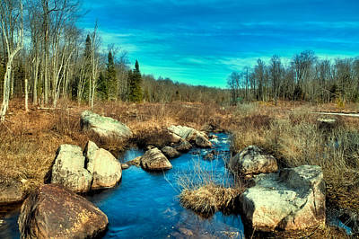 Photograph - Minnehaha Creek In The Adirondacks by David Patterson