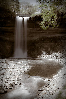 Photograph - Minnehaha Falls by Chris Coward