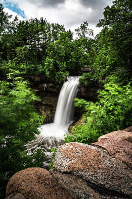 Minnehaha Falls Photograph - Minnehaha Falls by Daniel Chen