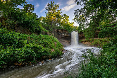 Photograph - Minnehaha Falls by Mark Goodman