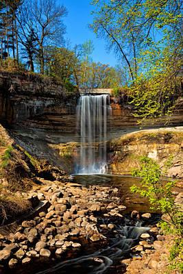 Photograph - Minnehaha Falls by Susan Rissi Tregoning
