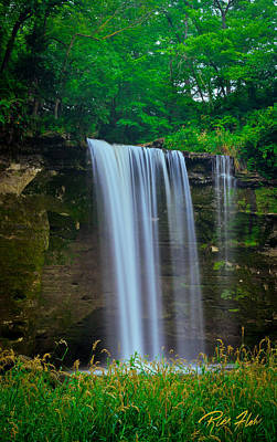 Photograph - Minneopa Falls by Rikk Flohr