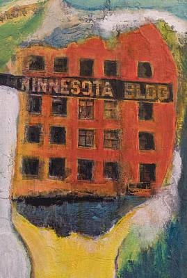 Painting - Minnesota Bldg. by Susan Stone