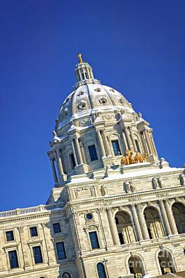 Photograph - Minnesota Capitol by Scott Kemper