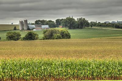Photograph - Minnesota Farm by Deb Buchanan