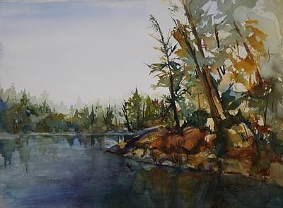 Minnesota Lake Country I Art Print by Susan Seaborn