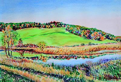 Painting - Minnesota Landscape by Bonnie Follett