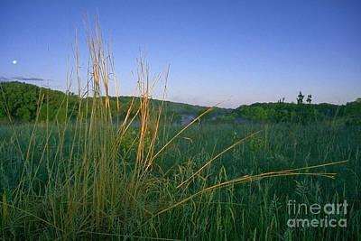 Minnesota Prairie Moon Rise Original by Sven Brogren