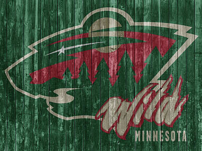 Mixed Media - Minnesota Wild by Dan Sproul
