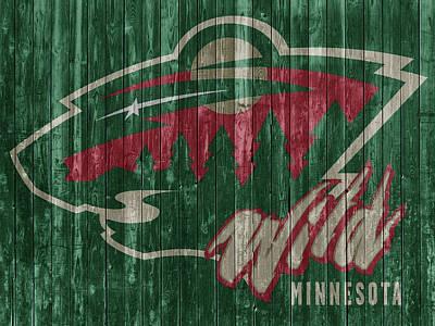 Mixed Media - Minnesota Wild by Dan Sproul