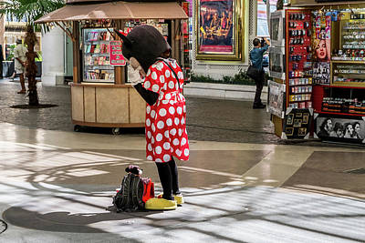 Photograph - Minnie Has A Moment by Glenn DiPaola