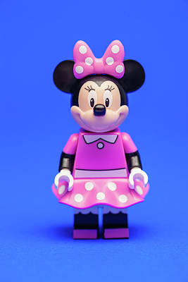 Disney Character Photograph - Minnie Mouse by Samuel Whitton