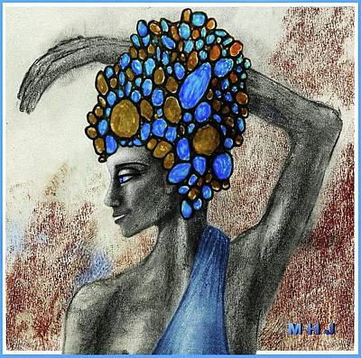 Drawing - Minoan  Royalty by Hartmut Jager