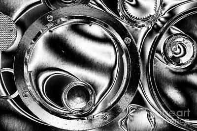 Photograph - Minolta Parts Abstract by Mike Eingle