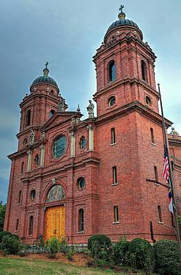 Photograph - Minor Basilica Of St. Lawrence Roman Catholic Church Asheville North Carolina by Carol Montoya