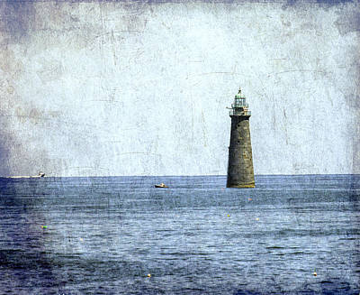 Minot Ledge Light Art Print