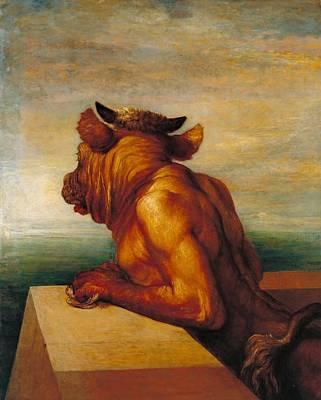 Minotaur Painting -  Minotaur by George Frederic