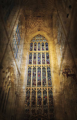 Minster Window Print by Svetlana Sewell