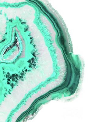 Interior Design Photograph - Mint Agate by Emanuela Carratoni
