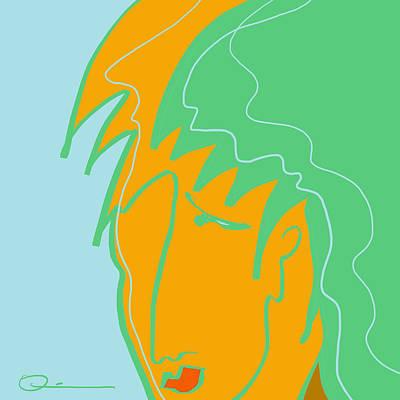 Digital Art - Mint by Jeff Quiros