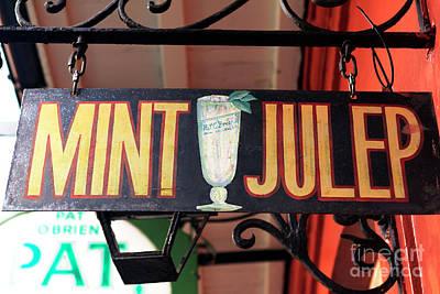 Photograph - Mint Julep by John Rizzuto