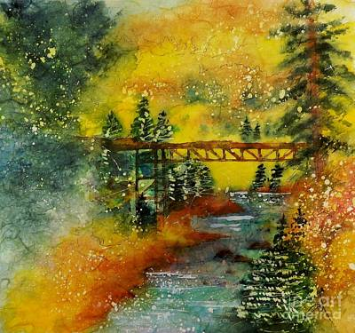 Painting - Minturn In Autumn by Carol Losinski Naylor
