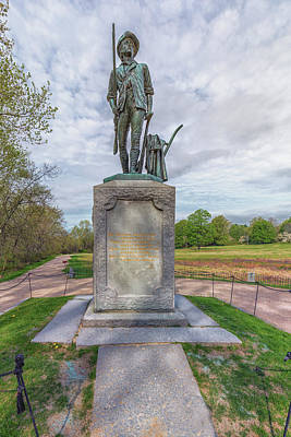 Photograph - Minute Man Sculpture Concord, Massachusetts by Brian MacLean