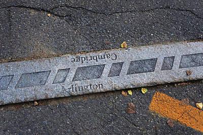 Photograph - Minuteman Trail Cambridge Arlington Line Arlington Ma by Toby McGuire