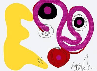 Miro Miro On The Wall Art Print