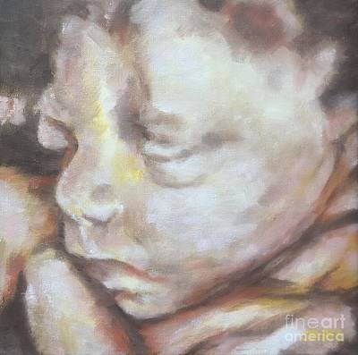 Painting - Miracle Baby by Kathy Stiber