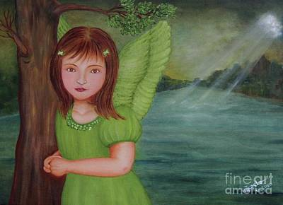 Miracle Art Print by Desiree Micaela