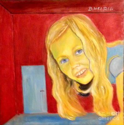 Alice In Wonderland Painting - Miracles Of Wonderland by Dagmar Helbig