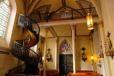 Miraculous Staircase Print by Jeff Swan