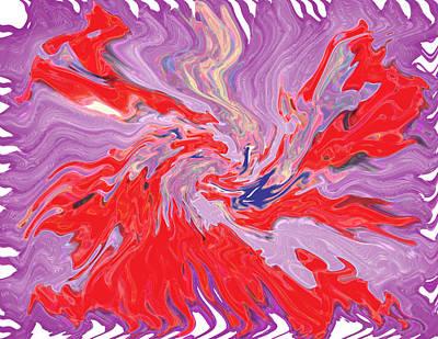 Trippy Digital Art - Mirage by Joshua Sunday
