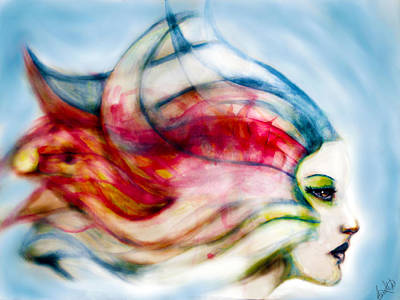 Painting - Mirage by Michael Amos