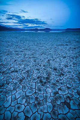 Alvord Desert Wall Art - Photograph - Mirage by Thorsten Scheuermann