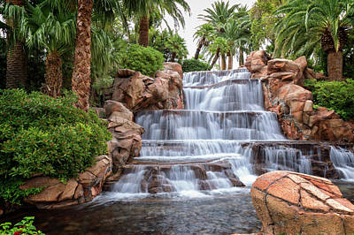 Photograph - Mirage Waterfalls II by Ricky Barnard