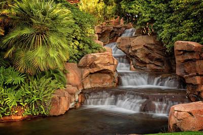 Photograph - Mirage Waterfalls by Ricky Barnard