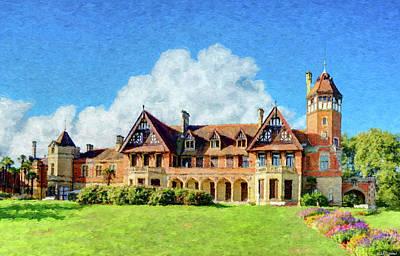 Digital Art - Miramar Palace - San Sebastian - Painting by Weston Westmoreland
