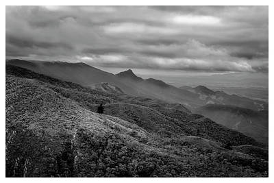 Mirante-pico Do Itapeva-campos Do Jordao-sp Art Print