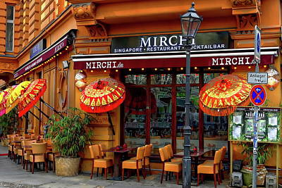 Photograph - Mirchi Singapore Restaurant by Anthony Dezenzio