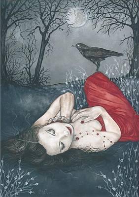 Kindred Spirits Painting - Mireya Before Midnight by Isis Raye