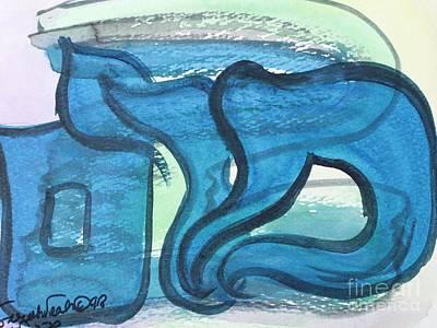 Painting - Miriam 2 by Hebrewletters Sl