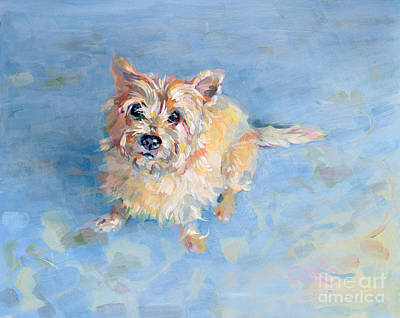 Rescue Pet Painting - Miri's Memory by Kimberly Santini